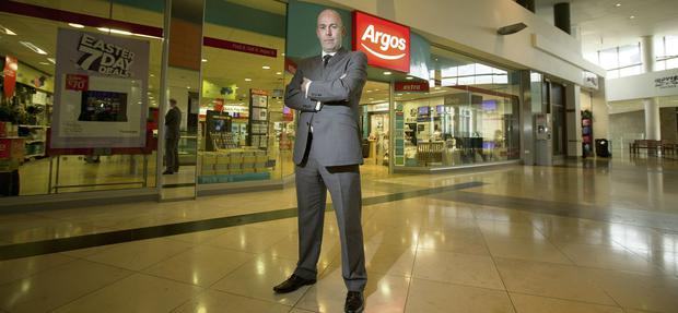 Andy McClelland, the head of Argos in Ireland