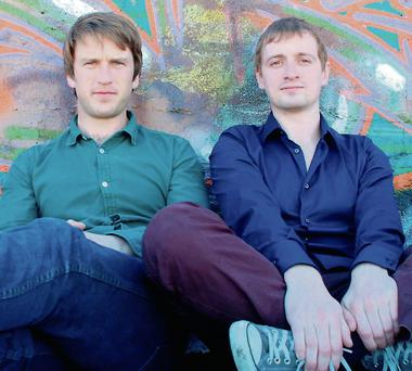 Studyclix founders Luke Saunders and Keith Wright