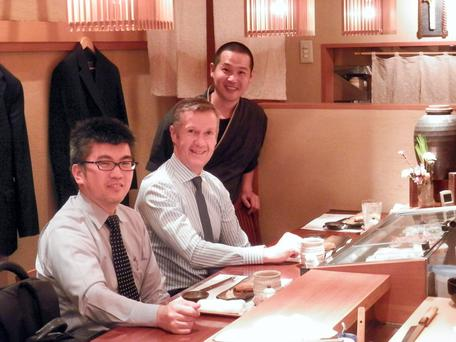 Donal Byrne, chief executive of Corvil, on a recent trip to Japan where the company's technology is used by the Tokyo Stock Exchange