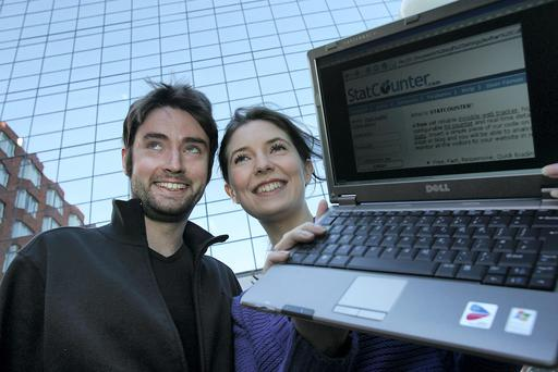 CEO Aodhan Cullen and CFO Jenny Cullen