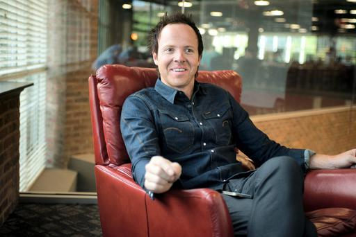 Ryan Smith, founder and chief executive of Qualtrics