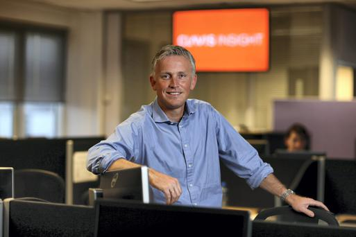 Garry Moroney, chief executive officer of Clavis Insight, is thinking big and on a global scale.