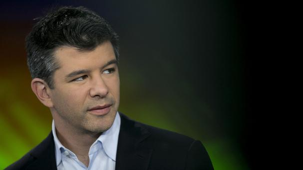 Travis Kalanick, founder and ceo of Uber.