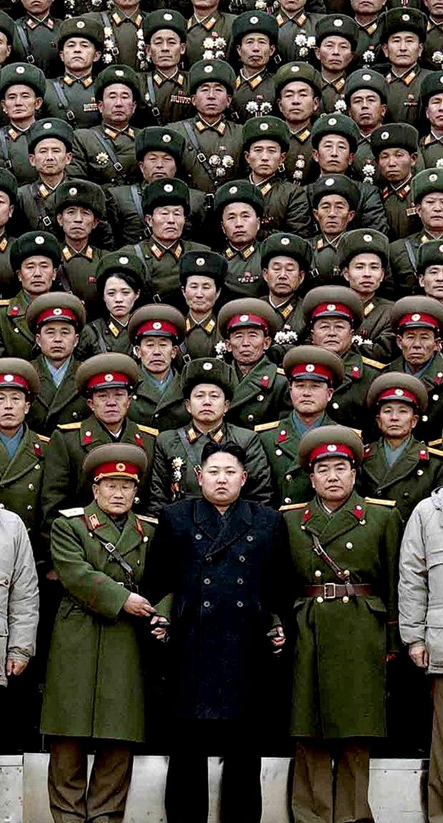 CHIEF SUSPECT: Kim Jong-Un's regime is not the only government with an army of hackers at work