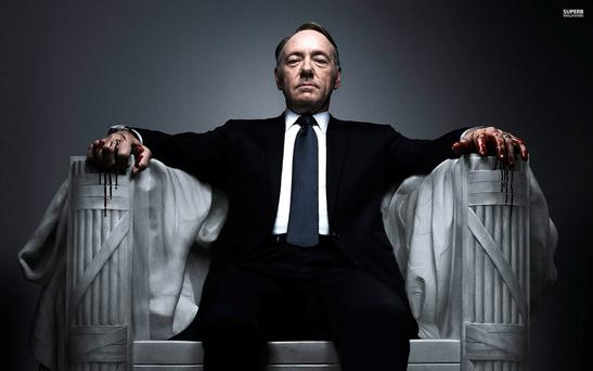 House of Cards - one of the hugely successful shows on Netflix