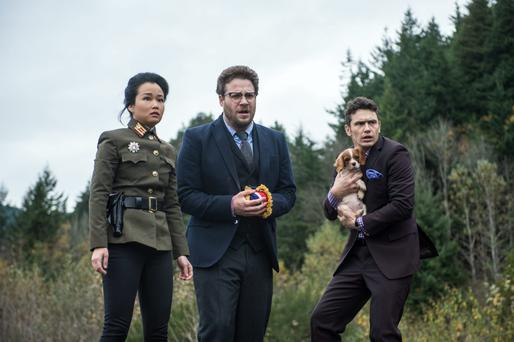 The movie 'The Interview' was at the centre of the Sony hacking story