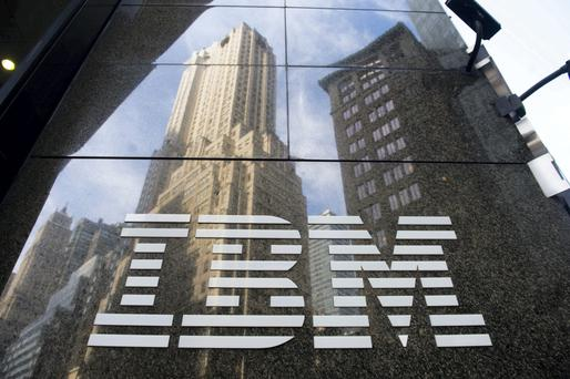 IBM shares are down about 7pc this year