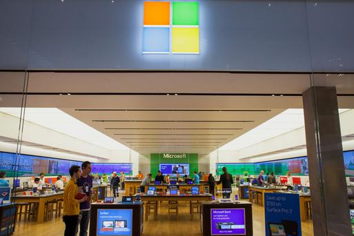Microsoft would gain from cloud purchase, but much of its $95bn warchest is held overseas