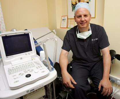 Dr David Walsh of Dublin's Sims IVF Clinic