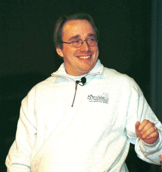 Linus Torvalds, creator of Linux systems