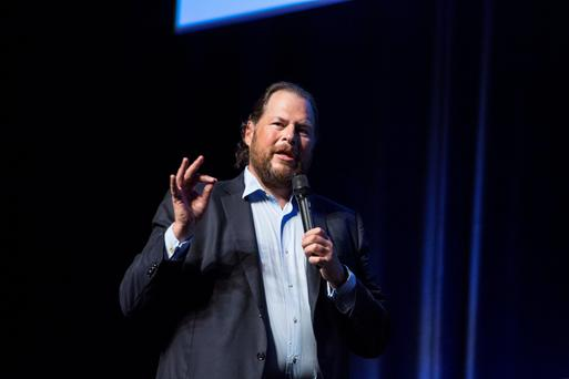 Marc Benioff, chief executive officer of Salesforce.com In