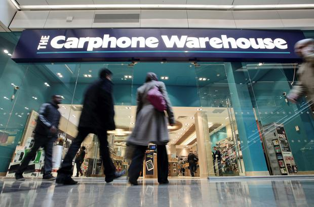 Carphone Warehouse, which has 90 stores in Ireland, is set to launch its own operator ID Mobile here in the coming weeks