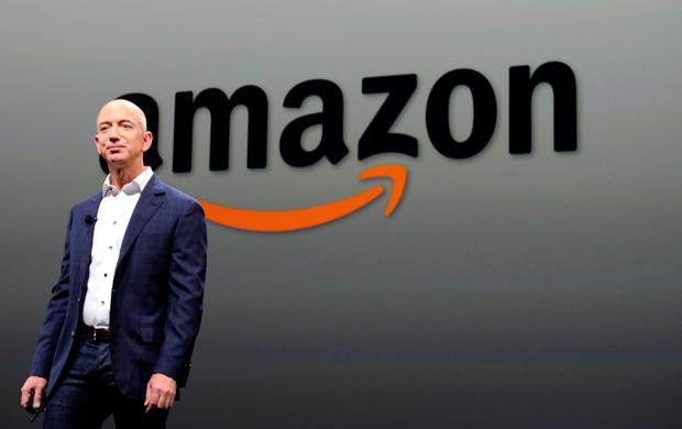 Jeff Bezos of Amazon Credit: AFP/Getty Images