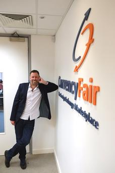 Brett Meyers, founder and chief executive of Currency Fair