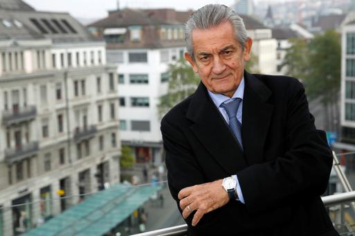 Stephen Urquhart, president of Omega, a unit of Swatch Group AG, poses for a photograph following the interview in Zurich this week. Photo: Luke MacGregor/Bloomb