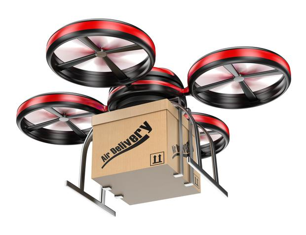 Drones to be used for delivering packages