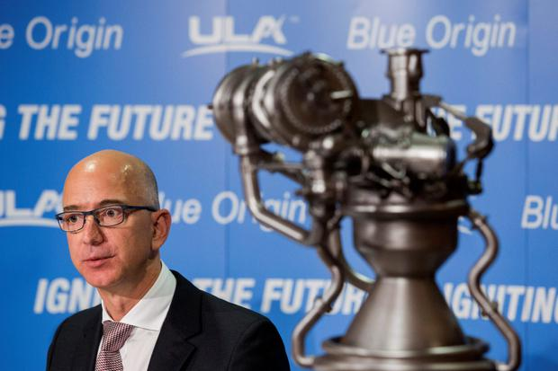 Space is the final tech frontier for Jeff Bezos, and rivals