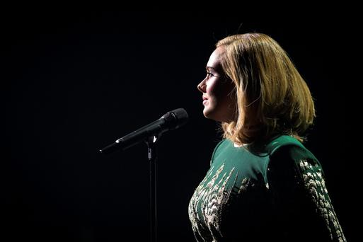 Adele sold 700,000 copies of her latest release last weekend.