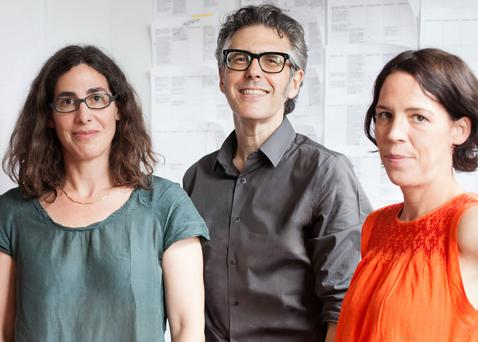 Serial thrillers: Host Sarah Koenig, Ira Glass and executive producer Julie Snyder