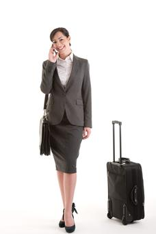 Business traveller - suitable technology is essential.