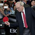 Billionaire Warren Buffett's Berkshire Hathaway has boosted tech giant after its near-€1bn stake is revealed. Photo: Bloomberg