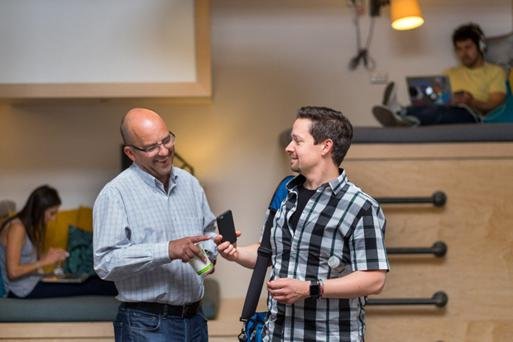 'Mobile is by far the primary platform for consumers, but only 10pc of commerce is done on mobile,' says Juan Benitez, pictured right, with fellow Braintree executive Klas Back.