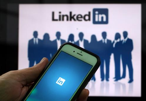 Professional site LinkedIn has over 430 million members. Photo: Bloomberg