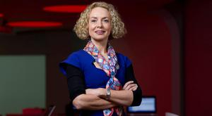 Vodafone chief executive Anne O'Leary