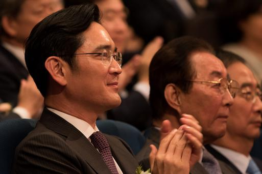 Billionaire Lee Jae Yong, vice chairman of Samsung Electronic