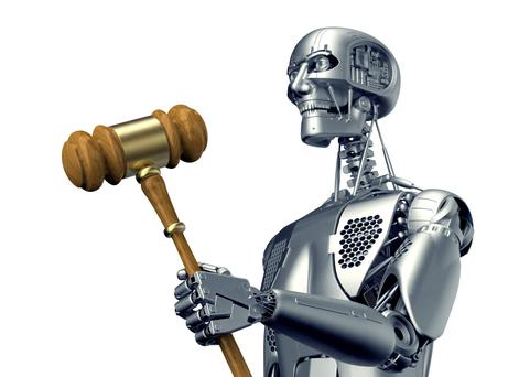 In the future, human lawyers might be called in to interpret the rare ambiguity, while robots perform most other tasks