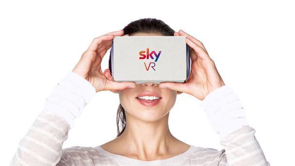 The Sky VR app is free to download.