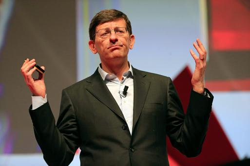 Vittorio Colao, chief executive officer of Vodafone. Photo: Bloomberg
