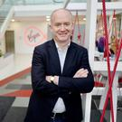 Virgin Media Ireland's Tony Hanway: 'Our TV losses are slowing. And I'd like to stem them altogether in 2017'. Picture: Adrian Weckler
