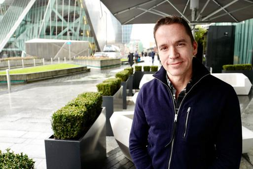 Sean Neville, who founded Circle, on a trip to its Dublin office. Photo: Adrian Weckler