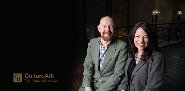 CultureArk's Adrian Legg and Deirdre Ní Luasaigh have created platforms that automatically preserve social media posts for clients