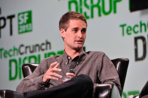 Snapchat co-founder Evan Spiegel is currently worth $2.1bn according to Forbes