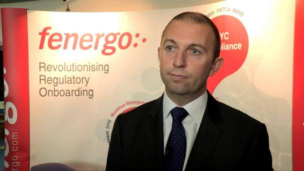 Marc Murphy, ceo of financial software firm Fenergo, which has targeted €100m in revenue by 2018 and an IPO by 2020