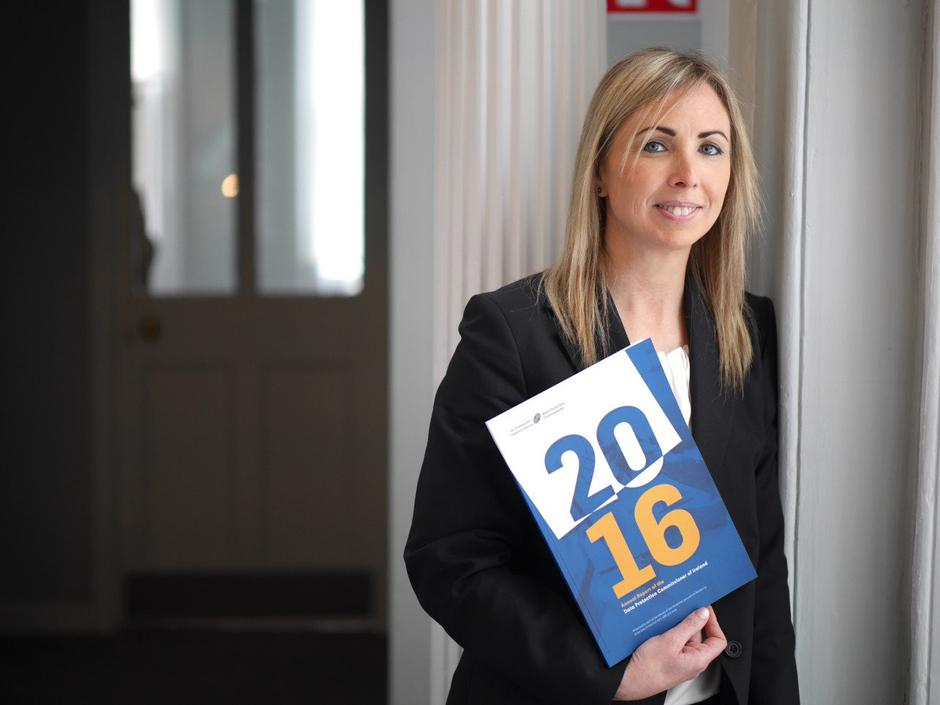 Ireland's Data Protection Commissioner Helen Dixon at the launch of her office's annual report