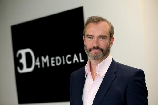 John Moore, ceo of 3d4 Medical, one of the world's leading medical apps developers.