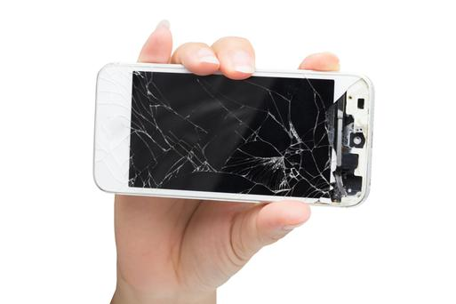 Replacing smashed screens on a phone can be expensive
