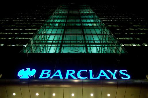 Barclays net interest income from its Irish business declined to €27.8m in the year ending December 31 2016, compared to €31.9m in the previous period. Photo: Reuters