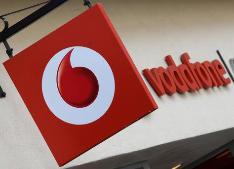 Vodafone Ireland quarterly service revenues down 2.5%