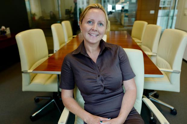 Claire Lee from Wicklow, who swapped Microsoft for Silicon Valley Bank, says she has seen gender gaps in the business world become a 'burning issue'. Picture: Adrian Weckler