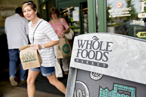 Amazon spent $13.7bn to buy the US Whole Foods supermarket chain and has invested in other bricks-and-mortar outlets