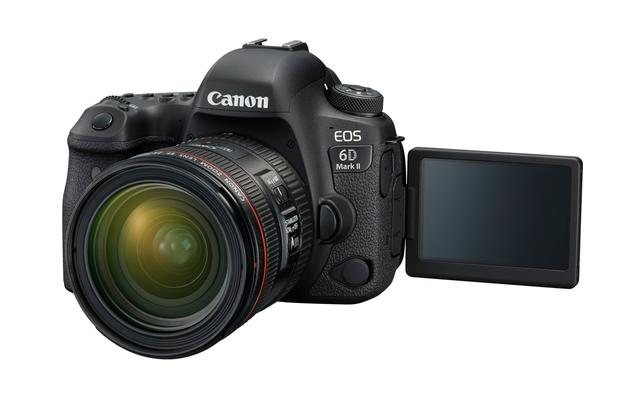 Canon's 6D Mark ii now has a flip-out touchscreen