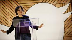 Kara Swisher, who previously worked for the Wall Street Journal and Washington Post says Recode avoids 'getting into bed with' tech leaders or trading access for a softer approach. Photo: Bloomberg
