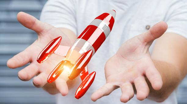 'Better to launch early with very few features, and add more over time. You end up going faster in the end.' Stock image