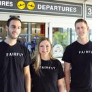 Ami Goldenberg, Gili Lichtman and Aviel Siman-Tov, co-founders of the Fairfly.com startup