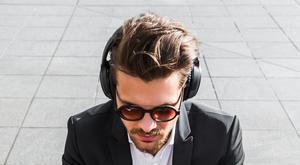 Noise-cancelling headphones can help you maintain focus (stock photo)