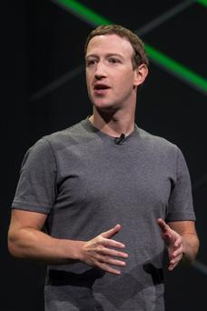 Facebook founder Mark Zuckerberg – millions of Facebook users had their personal data harvested by a British firm linked to Donald Trump's 2016 presidential campaign. Photo: © 2017 Bloomberg Finance LP